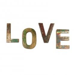 vintage holzbuchstaben aus alten booten