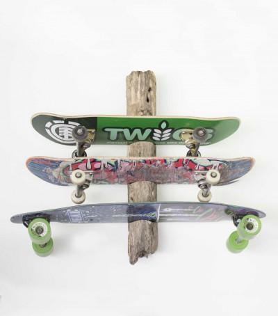 driftwood longboard wandhalterung