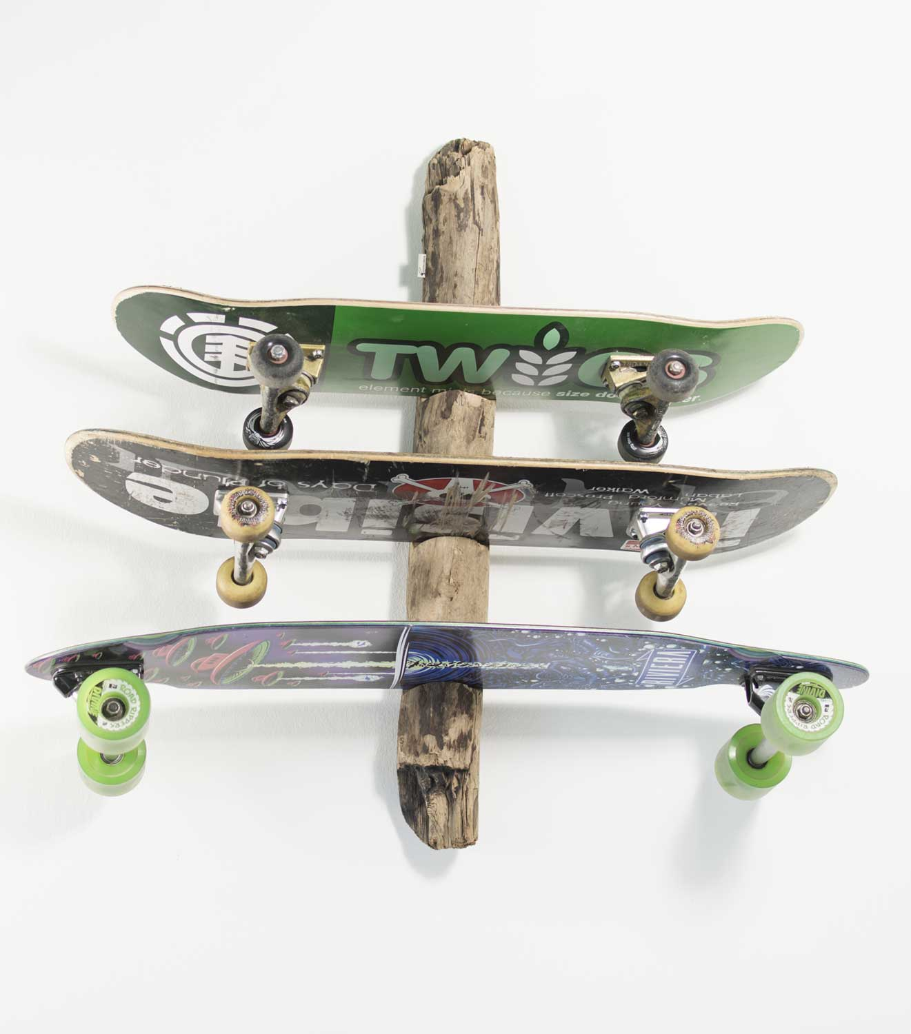 longboard wandhalterung driftwood von surfhund. Black Bedroom Furniture Sets. Home Design Ideas