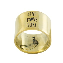 live love surf - ring