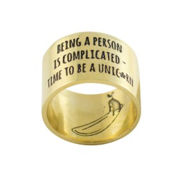 being a person is complicated - ring