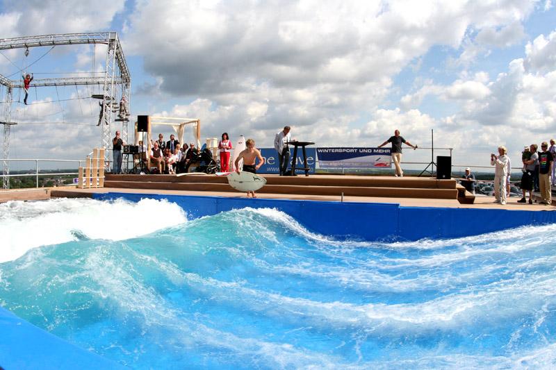 Mobiler Riversurf Spot The Wave