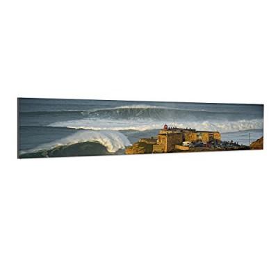Surfhund Leinwandbild Nazare