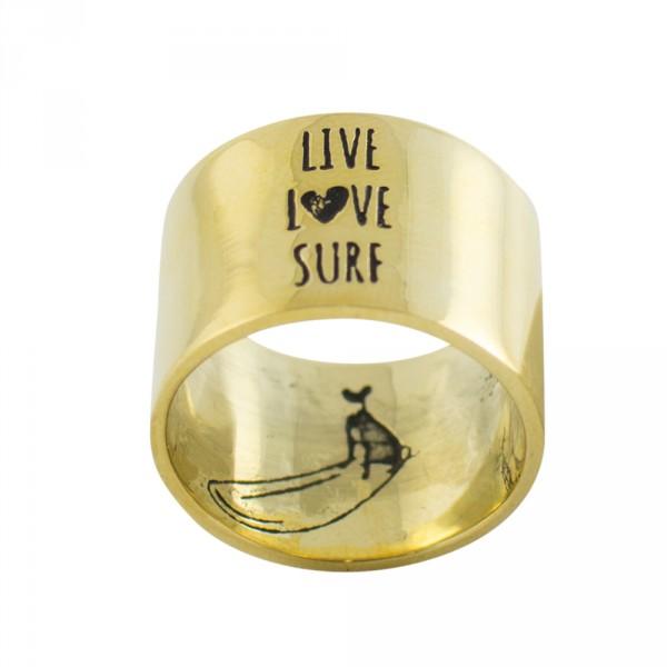 live love surf - ring